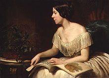 A portrait of Anne Platt as a young woman