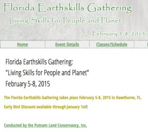 Florida Earthskills 2015