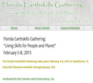 Florida Earthskills 2015