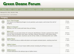 Green Deane Forum