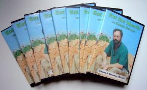 The nine-DVD set has 135 videos.