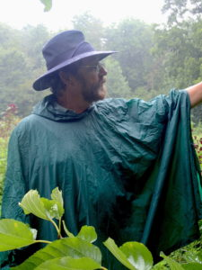 Foraging classes held rain or shine except for hurricanes.