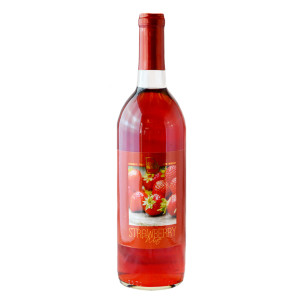 There's even strawberry wine.