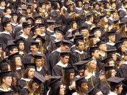 College Students are decreasing habitat for one species.