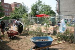Vacant city lots might not be good places for food gardens.