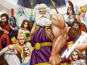 The Greek Gods consumed ambrosia and see what it did for them!