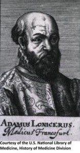 Adam Lonitzer, 1528-1586