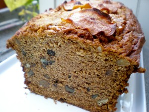Even Green Deane breaks his no-flour rule for some hot Persimmon bread.