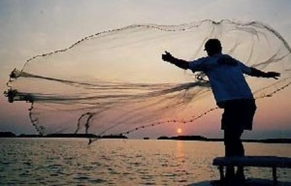 Cast nets throwing your weights around eat the weeds for Throw nets for fishing